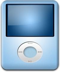 iPod Nano Baby Blue