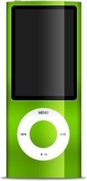 iPod nano green