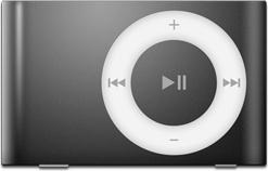 iPod Shuffle Black