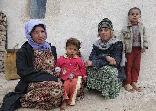 iraq iraqi family