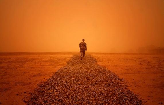 iraq sandstorm weather