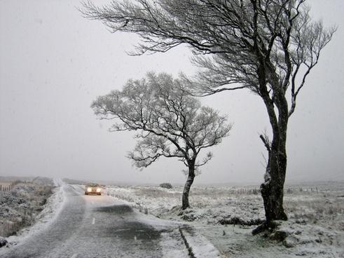 ireland snow snowing