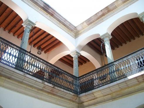 iron railing