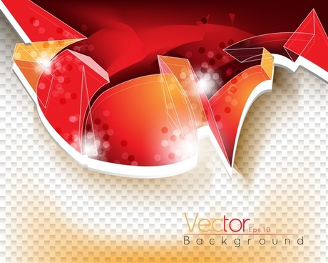 abstract background 3d design red glare decor