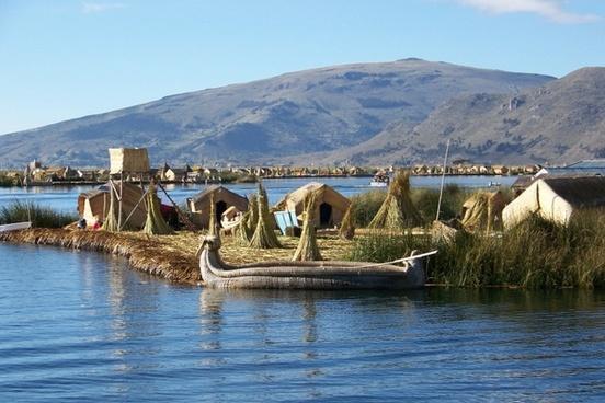 island lake titicaca