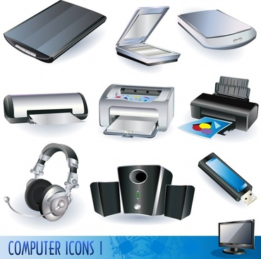 digital equipment icon modern 3d design