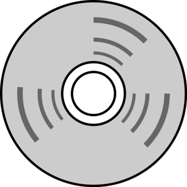 it-disk-line drawing