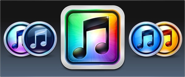 iTunes 10 icons pack