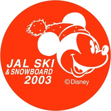 jal ski snowboard 2003
