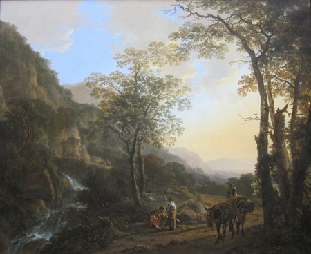 jan fluslandschaft mountains people