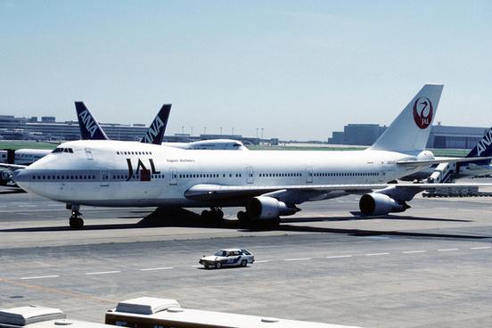 japan airlines boeing 747 146bsr ja814222066426