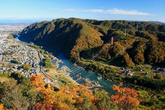 japan fall autumn