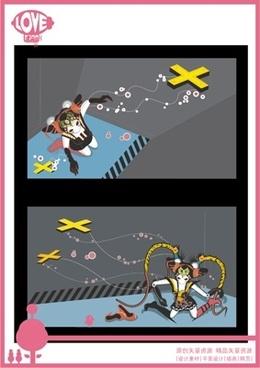japan illustration 2 vector