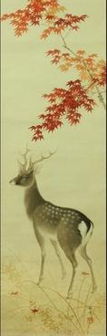 japan japanese scroll