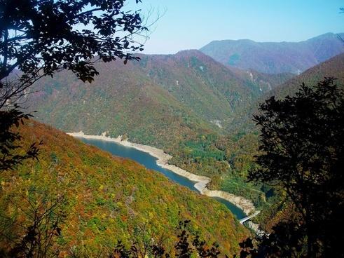 japan lake river