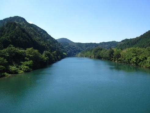 japan lake water