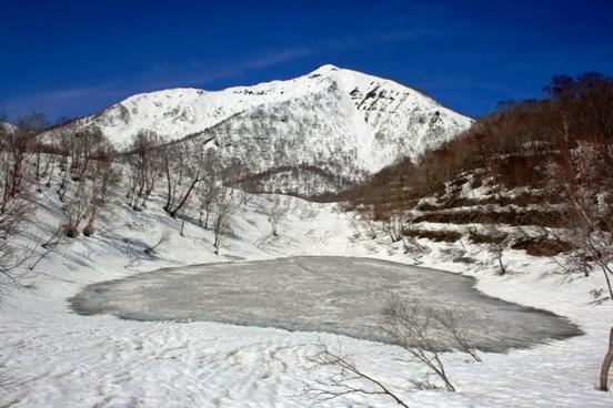 japan landscape winter