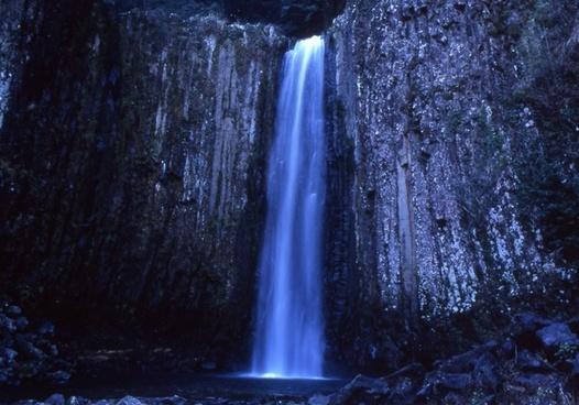 japan waterfall natural