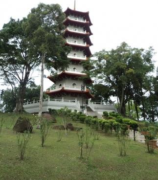 japanese garden tower