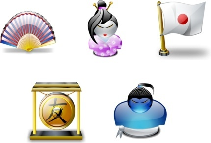 Japanese Traditions icons pack