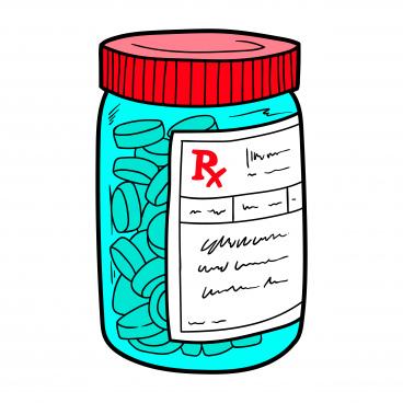 jar of pills