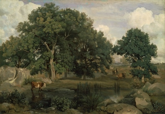jean corot painting oil on canvas