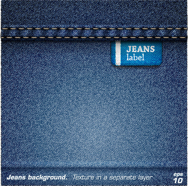 jeans fabric vector backgrounds art