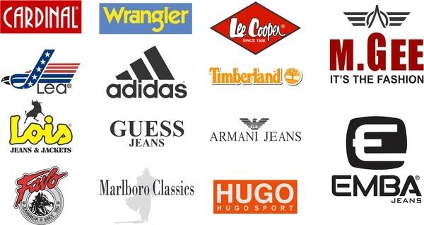 jeans logo vector