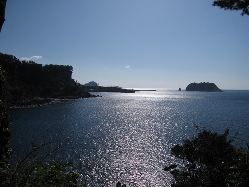 jeju island halla sea