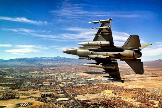 jet fighter sky
