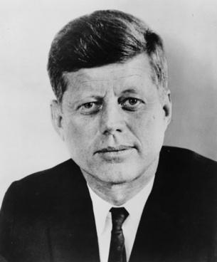 john f kennedy president usa