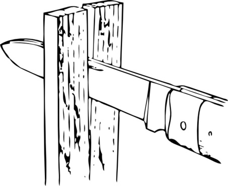 Johnny Automatic Splitting End Grain clip art