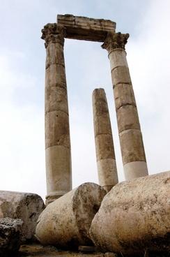 jordan ruins remains