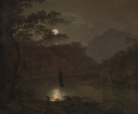 joseph wright painting oil on canvas
