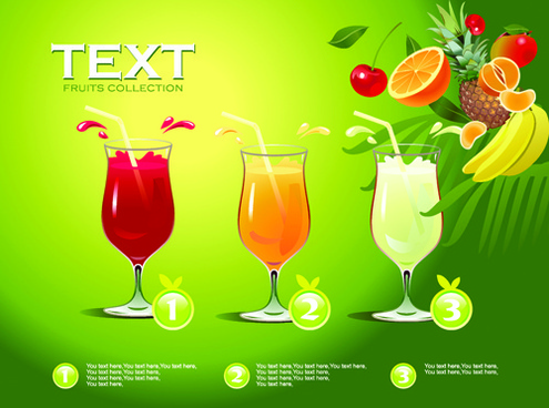 juice advertisement publicize poster creative vector