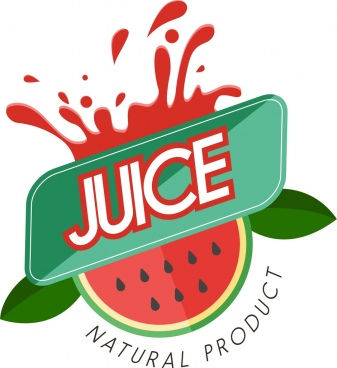juice advertisement water melon decoration closeup style