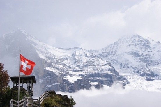 jungfraujoch mountains switzerland