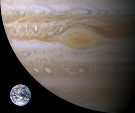 jupiter planet earth