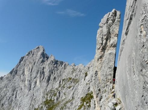 kaindl-stewart tower mountains pinnacle