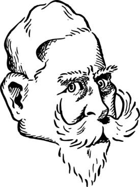 Kaiser Wilhelm clip art