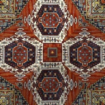 kaleidoscope of persian carpet