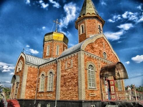 kalmykia russia church
