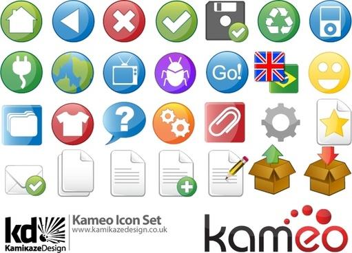 Kameo Icon Set