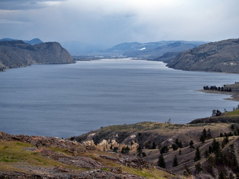 kamloops lake british columbia water