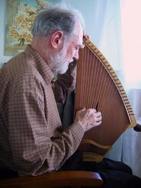 kantele musician stringed instrument