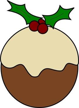 Karderio Christmas Pudding clip art