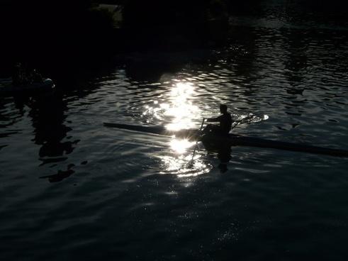 kayak kayakers water sports