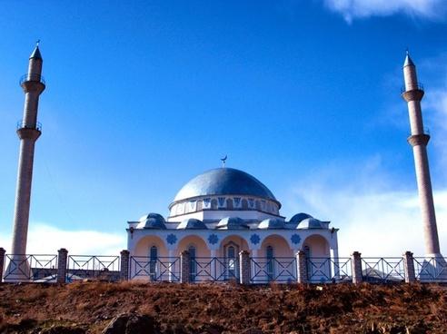 kazakhstan building mosque