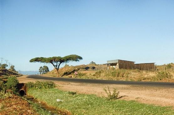 kenya landscape scenic