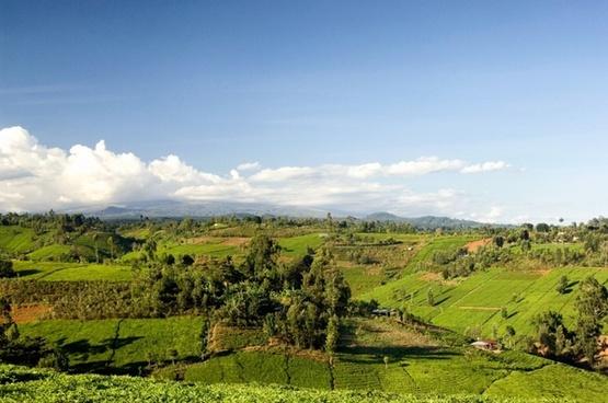 kenya landscape scenic mountains
